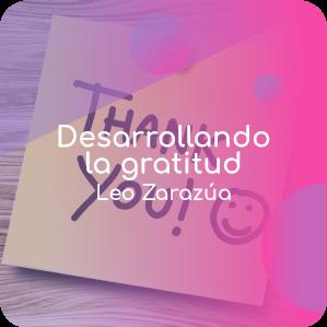 Desarrollando la gratitud