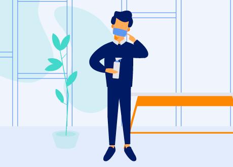 Salud en la empresa, evitar contagios cuando estás enfermo