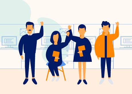 Seis acciones que promueven un equipo de trabajo comprometido y más productivo