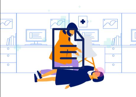 Atención de emergencias de salud - Infografía