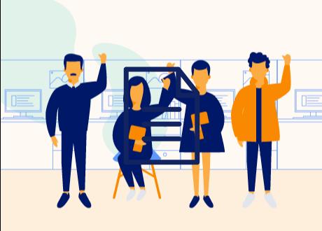 Seis acciones que promueven un equipo de trabajo comprometido y más productivo - Infografía